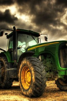 my big green tractor