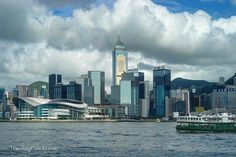 Hong Kong City Skyline by camwears, via Flickr
