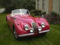 1953 Jaguar XK120 SE.
