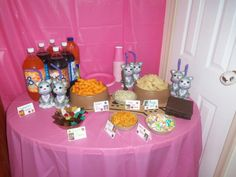 Doggy & Kitty Birthday Party Food