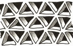 (c)2014 Margaret Bremner; enthusiasticartist.blogspot.com. Cubine can also be done in triangles.