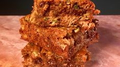 "Zucchini Almond Butter Blondies Recipe from Kristin Cavallari's appearance on The Chew (and also her new cookbook ""True Roots"")"