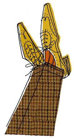 Tweed Brogues | Alanna Cavanagh