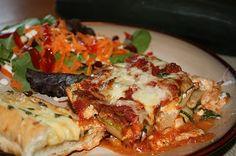 Fabulous vegetarian lasagna #lasagna #vegetarian