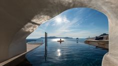 Discover more at http://www.bocadolobo.com/en/inspiration-and-ideas/peaceful-santorini-hotel-by-interior-design-laboratorium/