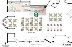 starbucks floor plan - Google Search