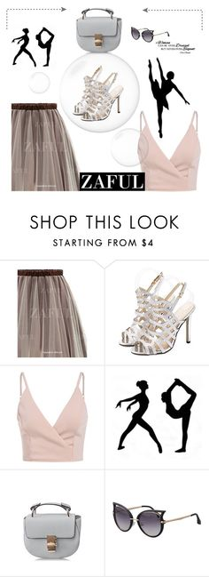 """ZAFUL II-8"" by marinadusanic ❤ liked on Polyvore featuring Chanel and zaful"