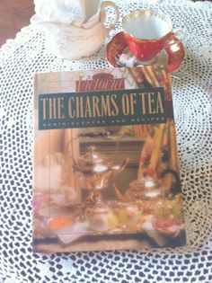 Vintage Victoria The Charms of Tea Hardcover by MariasFarmhouse, $25.00