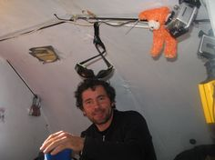 Sebastien avec Nook (le petit ours orange mascotte Akammak) Catamaran, Orange, Baby, Newborns, Infant, Baby Baby, Doll, Infants, Kid