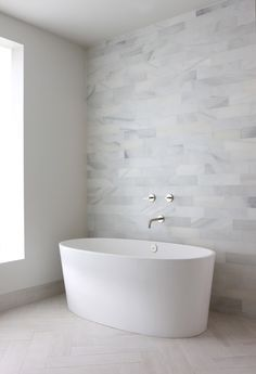Wall Tile Is A Favorite. HP Modern Bathroom   Love The Gray Tiles, Would Be  Great With A White Tile Wall At Each Side For A Shower.