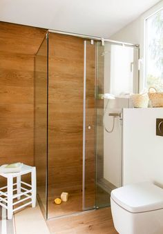 Amazing And Gorgeous Bathroom Decoration Ideas You Must Love; Big Bathrooms, Rustic Bathrooms, Amazing Bathrooms, Bathroom Tub Shower, Tub Shower Combo, Bathroom Ideas, Bathroom Designs, Bathroom Storage, Tile Tub Surround