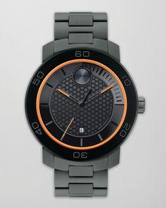 Movado Bold - XL Bold Titanium Watch $695