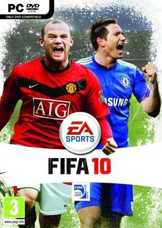 EA Fifa 2010 Free Download Game Football Video Games, Soccer Games, Ea Fifa, Playstation, Need For Speed Rivals, Wwe Game, Typing Games, Ea Sports, Videogames