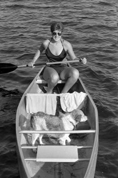 A day of canoeing is better with your best friend (1985). | Florida Memory