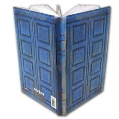 Dr. Who Journal...would make a perfect travel journal for fans :o)