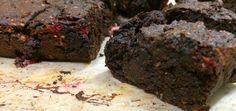 Gluten-Free Dark Chocolate Raspberry Brownies