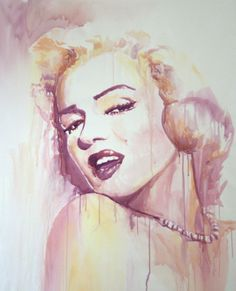 "Artist: Marta Zawadzka; Watercolor, 2012, Painting ""mm""  