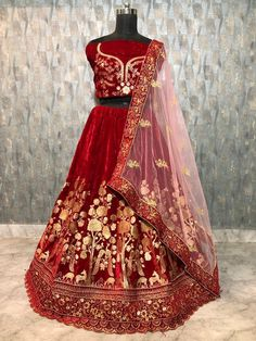 Indian designer heavy valvet lehenga choli with duppta and shawl Choli blouse salwar suit kameez ethnic wedding wear LEHENGHA CHOLI Buy Lehenga Online, Bridal Lehenga Online, Bridal Lehenga Choli, Indian Lehenga, Indian Bridesmaid Dresses, Printed Skirts, Traditional Dresses, Salwar Kameez, Velvet