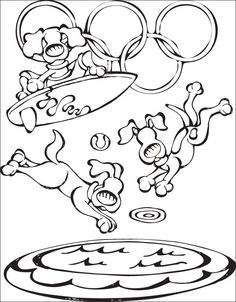 todays coloring page celebrates diving free coloring page download http