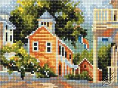 Rustic Charm - Cross Stitch Kits by RTO - EH325