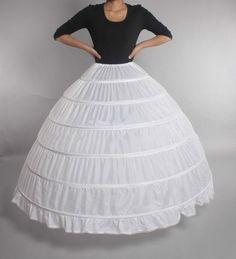 Petticoat for Wedding Crinoline Slip Underskirt Bridal Dress Hoop Vintage Slips Petticoat For Wedding Dress, Long Petticoat, Under Dress, Quinceanera, Bridal Dresses, High Waisted Skirt, Prom, Vintage, Lace