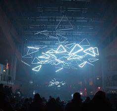 Flashback : GRID, performance 3D à l'hôtel de région Rhône-Alpes, Lyon - Light ZOOM Lumière