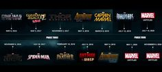 Marvel's Upcoming Movies