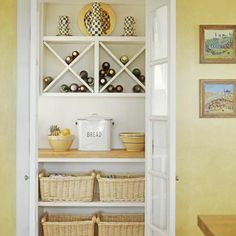 Split-Door Pantry