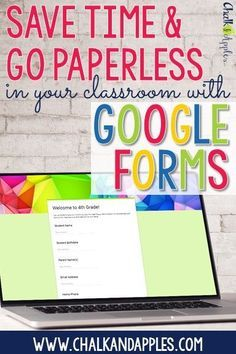Save time & go paperless in your classroom with Google Forms. 6 practical ways to use Google Forms in your classroom.