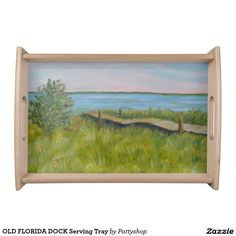 OLD FLORIDA DOCK Serving Tray