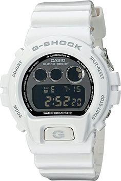 c9e4069561d Casio G-Shock Mirror-Metallic White Mens Digital Watch - Casio DW6900NB-7
