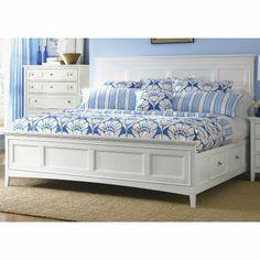 Magnussen Kentwood Queen Panel Bed Bedroom Set in White - - Magnussen Furniture King Bedroom, Bedroom Sets, Bedding Sets, Master Bedroom, Blue Bedroom, Serene Bedroom, Pretty Bedroom, Comforter Set, Modern Bedroom