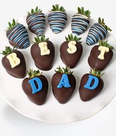 """""""BEST DAD"""" Berry-Gram® - Chocolate Covered Company®"""