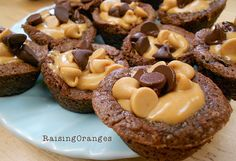 brownie peanut butter cups-dangerous