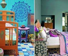 Ideas para decorar tu casa con estilo bohemio- mandalas