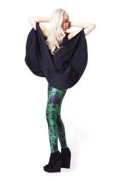 Slime Bath Leggings › Black Milk Clothing