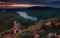 https://flic.kr/p/HeNNbc | Crummock Water from Red Pike | Crummock Water seen from the summit of Red Pike at sunset, Lake District.