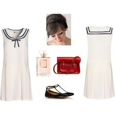 Sailor! by supersalmi on Polyvore featuring Boutique by Jaeger, The Cambridge Satchel Company and Chanel