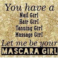 Let me be your mascara, eyeliner, lipstick, lip gloss, eye shadow, foundation, concealer, blush, lip stain girl! Glamorousmom3.com
