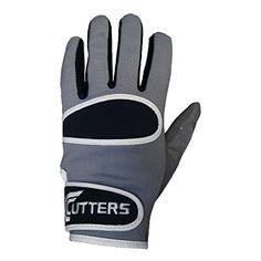 Cutters Adult Original Receiver Football Gloves (Light Grey/Black, 3X-Large)
