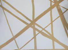 Creative Tonic loves Kelly Wearstler Wallpaper | Channels Paper: Copper/Beige www.kellywearstler.com