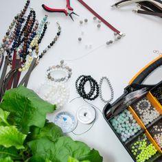 Working time! 📿🔨📦 find us on instagram 👉 mandes.bracelets