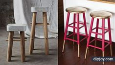 Please visit postingan Easy DIY Bar Stools To read the full article by click the link above. Diy Bar Stools, Bar Stools With Backs, Diy Stool, Wooden Bar Stools, Modern Outdoor Bar Stools, Diy Outdoor Bar, Industrial Bar Stools, Bar Stool Makeover, Homemade Bar