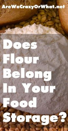 Can you store flour long term? I answer the question: does flour belong in your food storage. I explain in detail exactly how flour is made. #beselfreliant