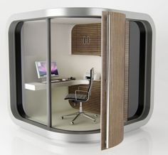 OfficePOD wouldn't mind working in this office...