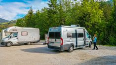 Wohnmobilstellplatz Kranjska Gora Bohinj, Radler, Seen, Recreational Vehicles, Vacation Travel, Campsite, Travel Report, National Forest, Explore