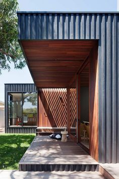 New Exterior Architecture House Timber Cladding Ideas House Cladding, Timber Cladding, Cladding Ideas, Steel Cladding, Architecture Résidentielle, Australian Architecture, Board And Batten Cladding, External Cladding, House Extensions