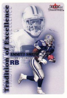 Emmitt Smith - Dallas Cowboys Dallas Cowboys Players, Dallas Cowboys Baby, Cowboys 4, Dallas Cowboys Football, Football Players, How Bout Them Cowboys, Walter Payton, Poster Ideas, Football Cards
