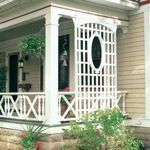 free plans woodworking resource from FamilyHandyman - trellis,lattice,porch trellis,privacy,outdoors,DIY instructions,free woodworking plans,do it yourself,woodworkers,how to build