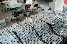 aegis hyposurface Birmingham, R-U 1999 par dECOi Architects